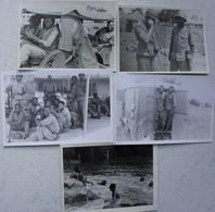 Photox5 ABL CONGO Kongo Force Publique Décembre 1959 !  Belgische Leger Armée Belge Afrique Africa - Guerre, Militaire