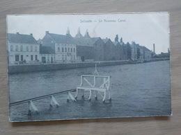 1910 CP Selzaete Zelzate Le Nouveau Canal N° 1907 Héliotypie De Graeve - Zelzate