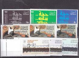 Stamps SUDAN 2019 FIRST ANNIVERSARY DECEMBER REVOLUTION MNH SET 2 */* - Soudan (1954-...)