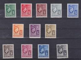 ISOLE VERGINI - 1938/47 -KING GERGE VI AND BADGE OF COLONY - SPECIMEN - HINGED - RARE - - Altri - America