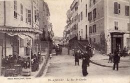 AJACCIO LA RUE SAINT-CHARLES - Ajaccio