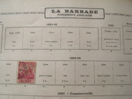 LA BARBADE / POSSESSION ANGLAISE : Divers Timbres Tous Oblitérés ( Dans L'etat ) P780 - Barbados (...-1966)