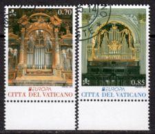 Vatican 2014 Mi# 1809-1810 Used - Europa / Musical Istruments - Vatican