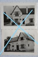 Photox2 NEDEROKKERZEEL 1957 Kampenhout Steenokerzeel Oude Villa Huis - Lieux