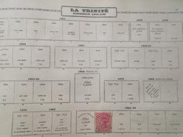 LA BARBADE / POSSESSION ANGLAISE : Divers Timbres Tous Oblitérés ( Dans L'etat ) P787 - Trinidad & Tobago (...-1961)