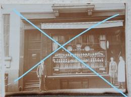 Photo HORLOGERIE SUISSE Circa 1925 Belgium Montre Clock Publicité JAZ Réveil De Qualité - Photos