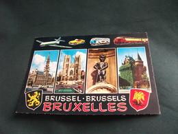 AUTO CAR VOITURES COCHE SPORTIVA PULLMAN TRENO AEREO VEDUTE BRUSSEL BRUXELLES BELGIO - Belgio
