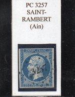 Ain - N° 14A Obl PC 3257 Saint-Rambert - 1853-1860 Napoléon III