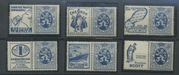 50cc Bleu * *  Avec Publicité 31 à 36 Belle Qualité Sans Charnière Cote 75,- Euros - Publicités