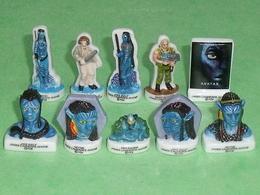 Série De Fèves Complète : Avatar - Dessins Animés