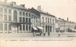 Belgique - Tirlemont - Grand' Place - La Maison Du Bourgmestre Et Le Palais De Justice - Tienen