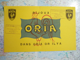 Bijoux Oria - Löschblätter, Heftumschläge