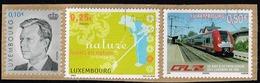Luxemburg 2003/6, Michel# 1611, 1704 O Natur/ Eisenbahn - Used Stamps