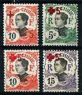 Indochina (Francesa) Nº 65/8 Nuevo*/(*) - Unused Stamps