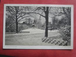 Krnov / Jägerndorf - Stadtpark Im Schnee / Denkmal Kaiser Josef II - Repubblica Ceca