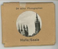 ALLEMAGNE - HALLE (SAALE ) - Pochette Complète De 24 Vues Format 9x6 Cm - Halle (Saale)