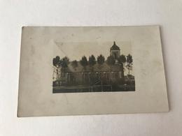 Ledegem  FOTOKAART Van De Kerk Tijdens EERSTE WERELDOORLOG - Ledegem