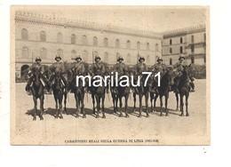 M9477 Militari CARABINIERI REALI GUERRA LIBIA ED BOERI Non Viaggiata - Reggimenti