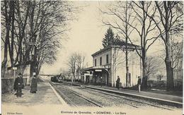 ~  JP ~  38  ~  Environs De Grenoble   ~   DOMENE    ~  La Gare   ~    Unique  ~ - Dole