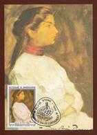 SäoTome E Principe  1982 , Homenagem A Picasso - Gemälde - Maximum Card - First Day 24/12 - 1982 - São Tomé Und Príncipe