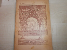 Ancien Bulletin N°1 1956  ASSOCIATION DES ANCIENNES ELEVES LA PROVIDENCE WAVRE - Old Paper