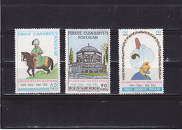 TURQUIE 1966 SULEYMAN II Yvert 1792-1794 NEUF** MNH - 1921-... Republik