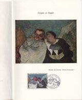 FRANCE - Encart Daumier - 3 Scans - Curiosidades: 1960-69 Cartas