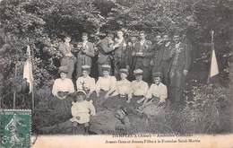 02 - Dampleux - Anciennes Coutumes - Jeunes Gens Et Jeunes Filles à La Fontaine St-Martin - Un Beau Rassemblement - Sonstige Gemeinden