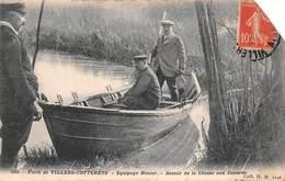 02 - Villers-Cotterêts - Equipage Menier Dans La Forêt - Retour De La Chasse Aux Canards Magnifiquement Animé - Villers Cotterets