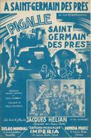 Partition Jacques HELIAN  - A Saint-Germain Des Prés - Scores & Partitions