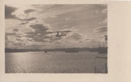 AK - I. WK. - Seeflugzeug Am Erkundigungsflug Beim Verlassen Des Hafens Von Pola 1916 - War 1914-18