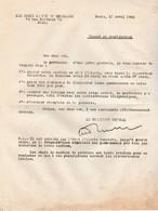 Croix De Feu 1934 / Grève Générale / Etat D'alerte Dans Les Sections - Documents