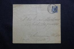 """ALLEMAGNE - Entier Postal Avec Oblitération """" Packet Fahrt """" En 1889, à étudier - L 54799 - Ganzsachen"""