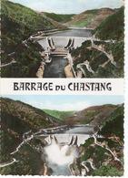 CPA 19 SERVIÈRE LE CHÂTEAU  Barrage De Chastang Vu Du Belvédère - Ouvert Et Fermé - France