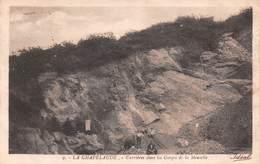 03 - La Chapelaude - Beau Cliché Animé Des Carrières Dans Les Gorges De La Meuselle - Autres Communes