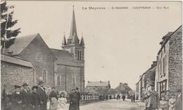 Mayenne : ST  AIGNAN - COUPTRAIN : Une  Rue  ( Garde  Chasse ? ) - Altri Comuni