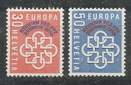 HELVETIA - MNH - Europa-CEPT -  PTT - 1959 - Glue Defect - See 2 Scan - Europa-CEPT