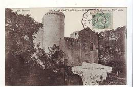 Cpa  St Jean D'angle Chateau Du Xll Siècle - France