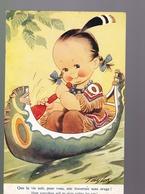 Cp : Humour  Enfant    Illustrateur  Taylor  Carte écrite 1956 - Taylor