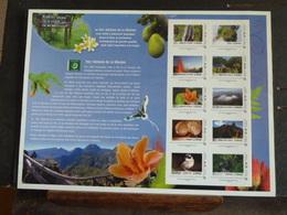 Parc National De La Réunion Collector De 10 TP 20g  Neufs** (non Plié). - Collectors