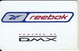 USA - Reebok, DMX Promotion Recharge Card, 11/00, Used - Etats-Unis