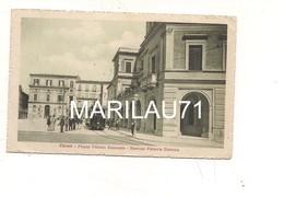 P794 Abruzzo CHIETI Tram Stazione Ferrovia Elettrica 1916 Viaggiata - Chieti