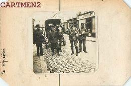 PHOTOGRAPHIE ANCIENNE GUERRE REQUISITION DE SOLDATS ALLEMANDS OCCUPATION FAMILISTERE NORD PAS-DE-CALAIS Haverskerque - Guerra, Militares
