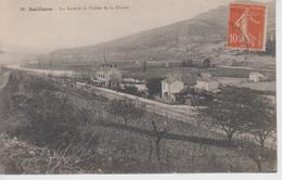 CPA Saillans - La Gare Et La Vallée De La Drôme - Frankreich