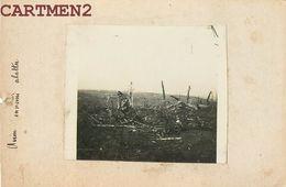 PHOTOGRAPHIE ANCIENNE GUERRE AVION ENNEMI ABBATU AVIATION MILITAIRE NORD PAS-DE-CALAIS Haverskerque - Guerra, Militares