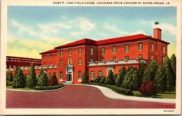 Louisiana Baton Rouge Huey P Long Field House Louisiana State University Curteich - Baton Rouge