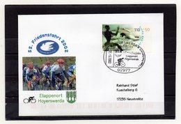 BRD, 2002, Brief (echt Gelaufen) Mit Michel 2096 Und Sonderstempel, 55. Friedensfahrt/Etappenort Hoyerswerda - Covers