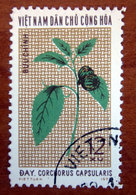 VIETNAM 1974 Piante Corchorus Capsularis - Usato - Vietnam