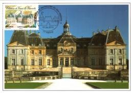 Carte Maximum YT Adh AA731 Château De Vaux-le-Vicomte 1er Jour 09 06 2012, Maincy 77 Parfait état (BC726) - Cartes-Maximum