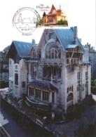 Carte Maximum YT Adh AA737 Villa Majorelle à Nancy 1er Jour 09 06 2012, Nancy 54 Parfait état (BC726) Art Nouveau - 2010-...